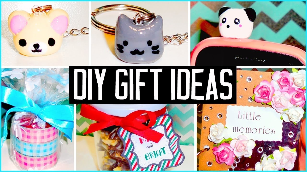 10 Ideal Cool Gift Ideas For Friends diy gift ideas make your own cheap cute presents christmas 2020
