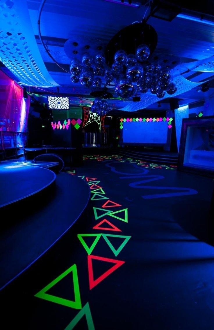 10 Stylish Glow In The Dark Room Ideas diy glow in the dark room decor gpfarmasi 888f440a02e6 2020