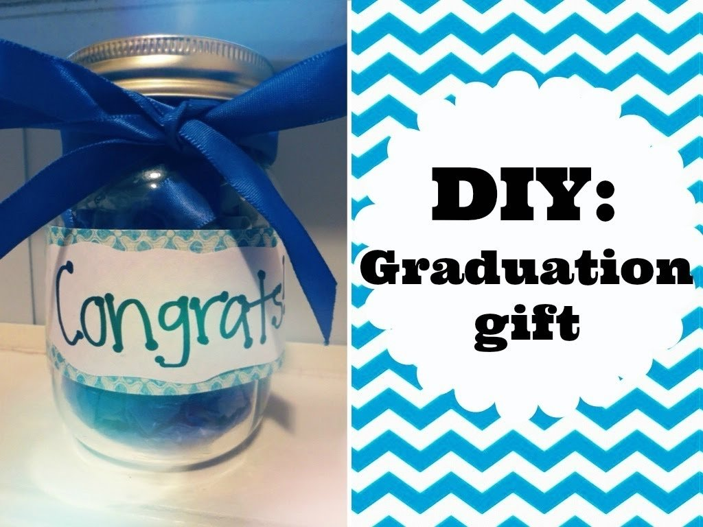 10 Ideal Graduation Gift Ideas For High School Seniors diy graduation gift idea youtube 5 2020