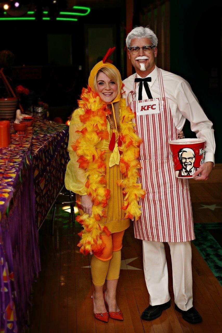 10 Lovely Thrift Store Halloween Costume Ideas diy halloween costume idea colonel sanders and his favorite 2020