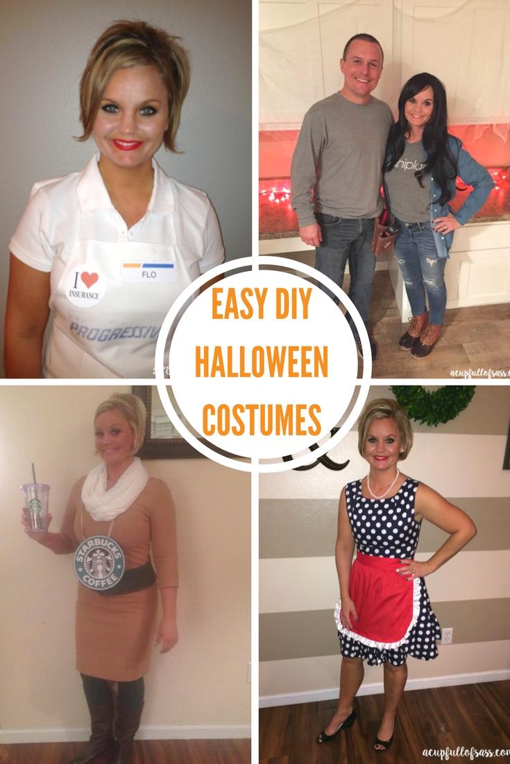10 Fashionable Easy Adult Halloween Costume Ideas diy halloween costume ideas a cup full of sass 2 2020