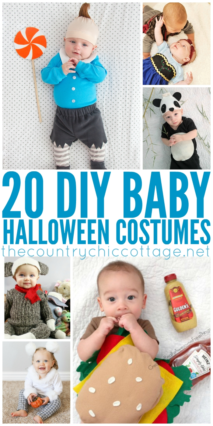 diy halloween costumes for baby - the country chic cottage