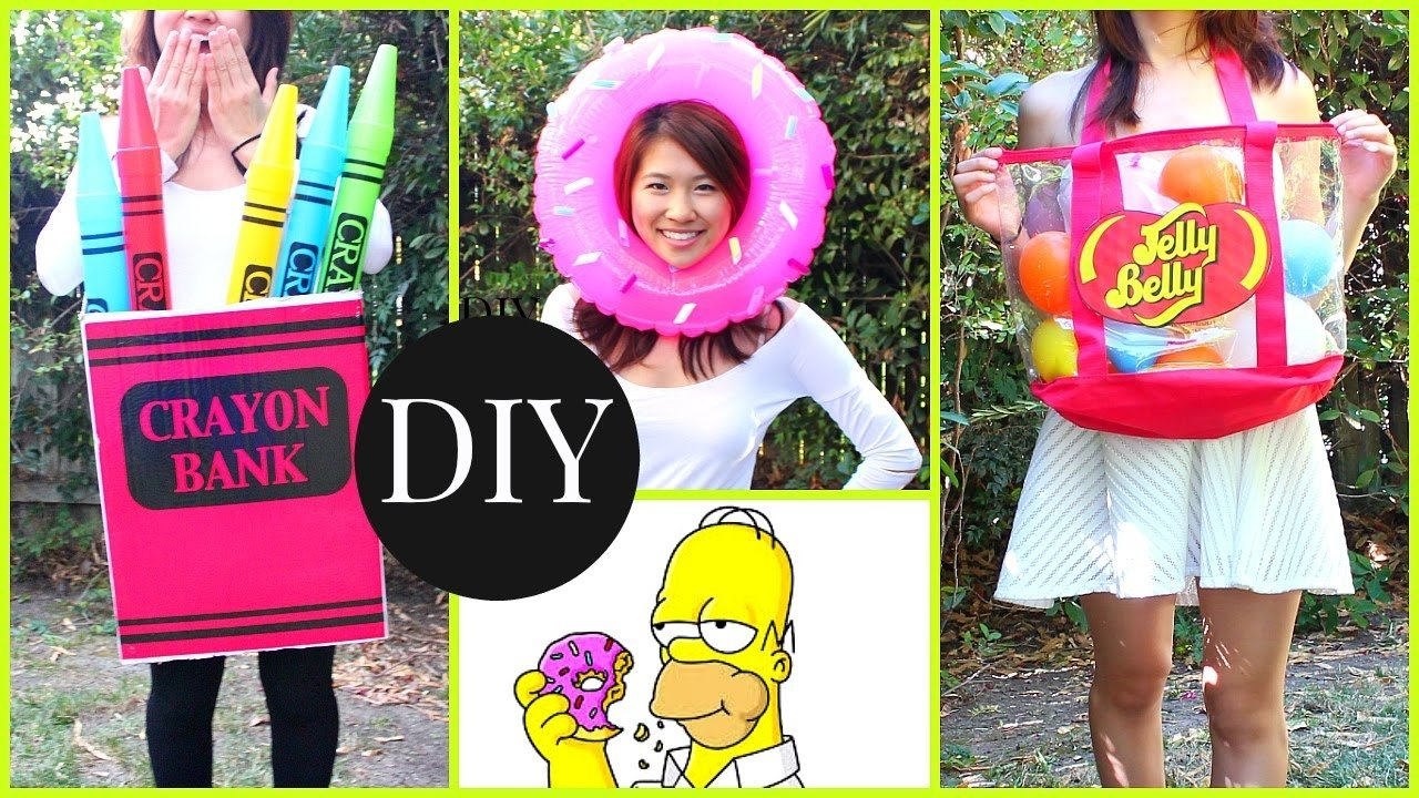 10 Fashionable Cheap Halloween Costume Ideas For Kids diy halloween costumes for kids teenagers last minute ideas youtube 2020