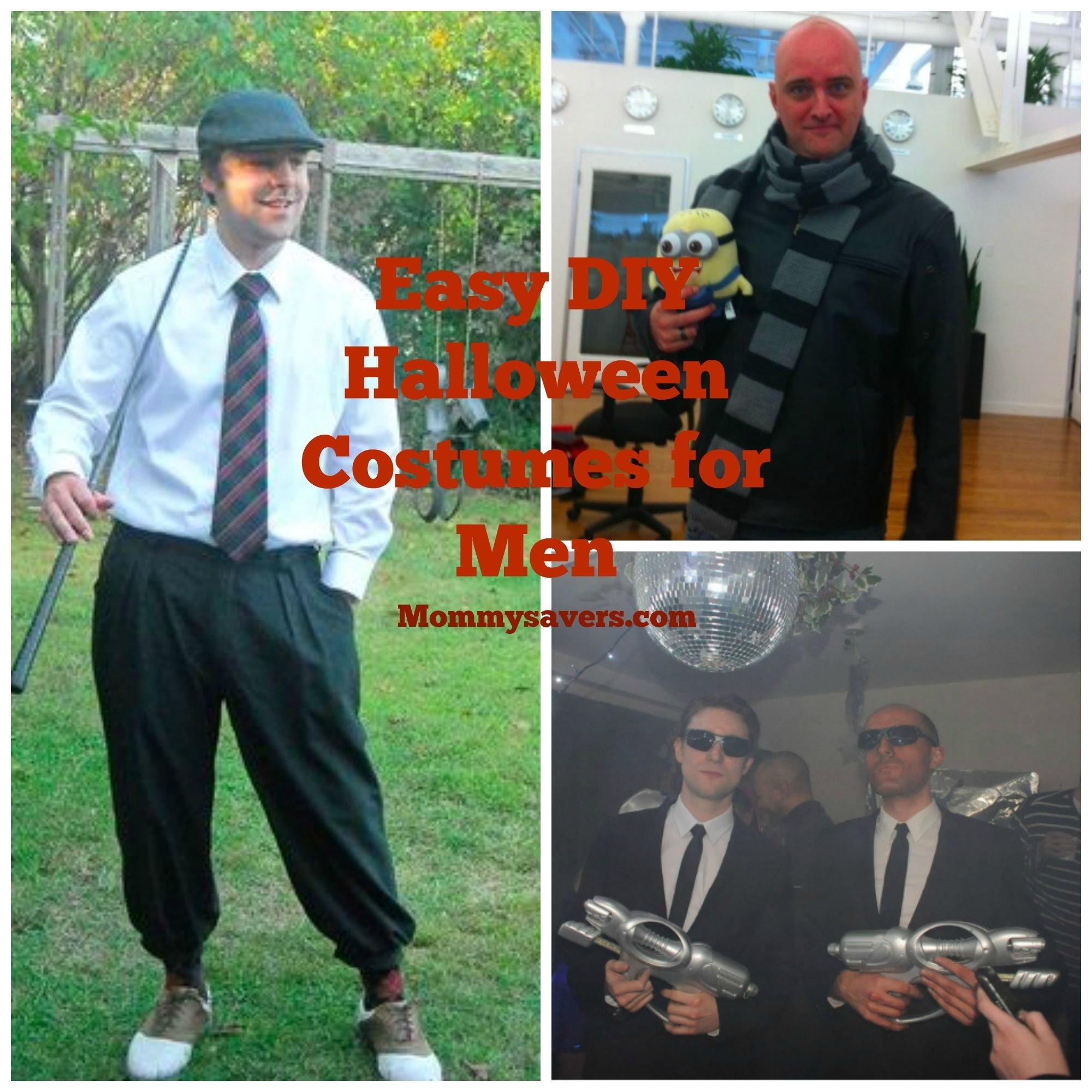 10 Wonderful Quick Costume Ideas For Men diy halloween costumes for men mommysavers 1 2021