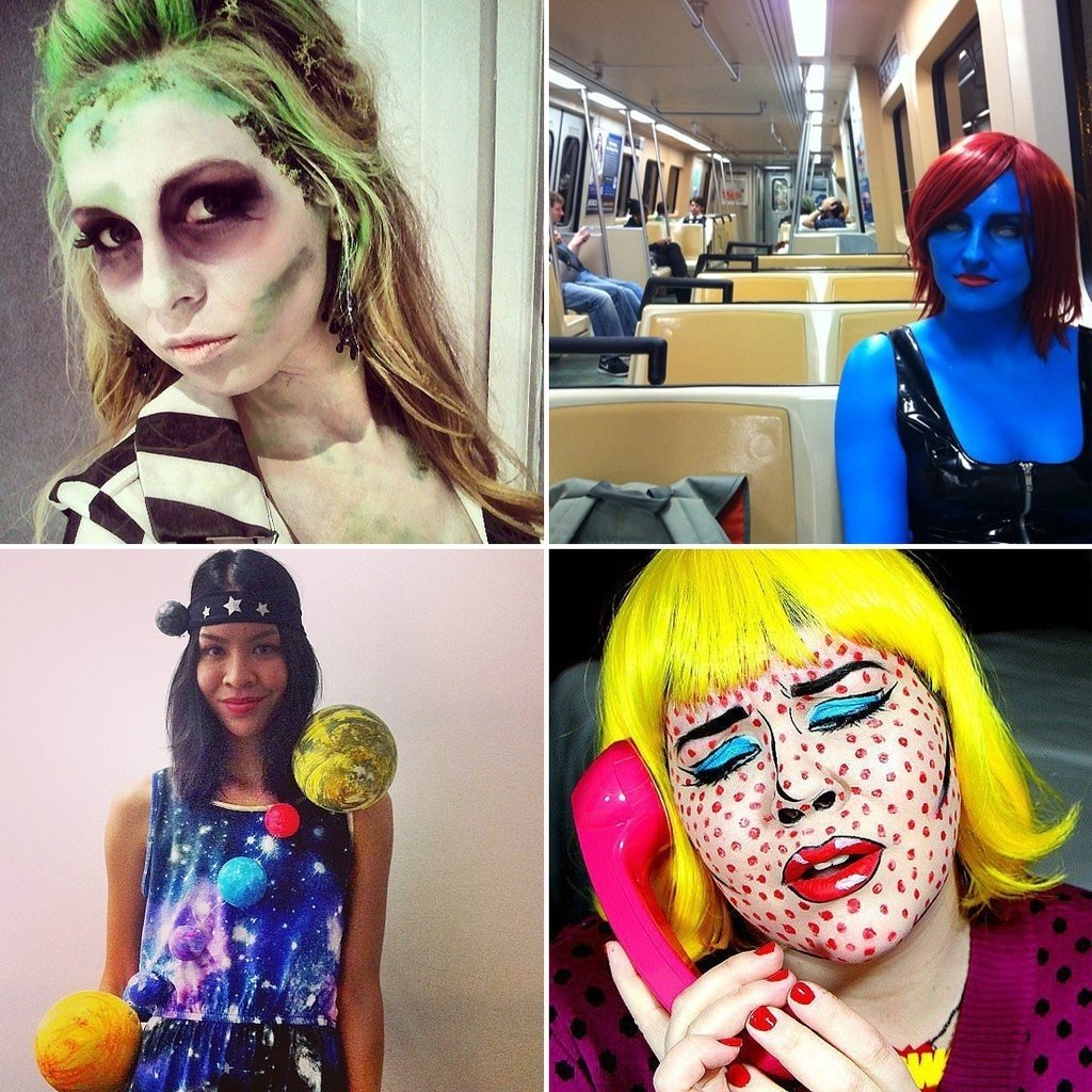 10 Awesome Homemade Halloween Costume Ideas For Women diy halloween costumes for women popsugar smart living uk 6 2020