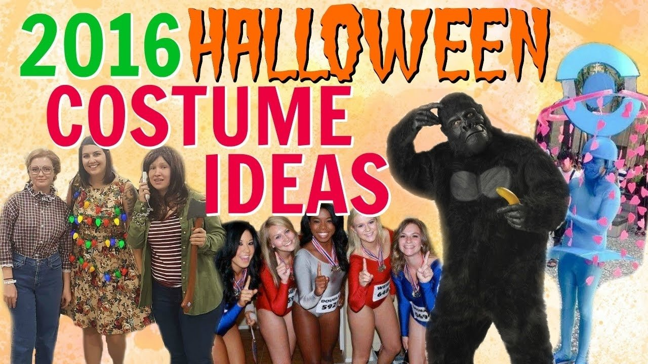 diy halloween costumes ideas from 2016 pop culture & trends! - youtube