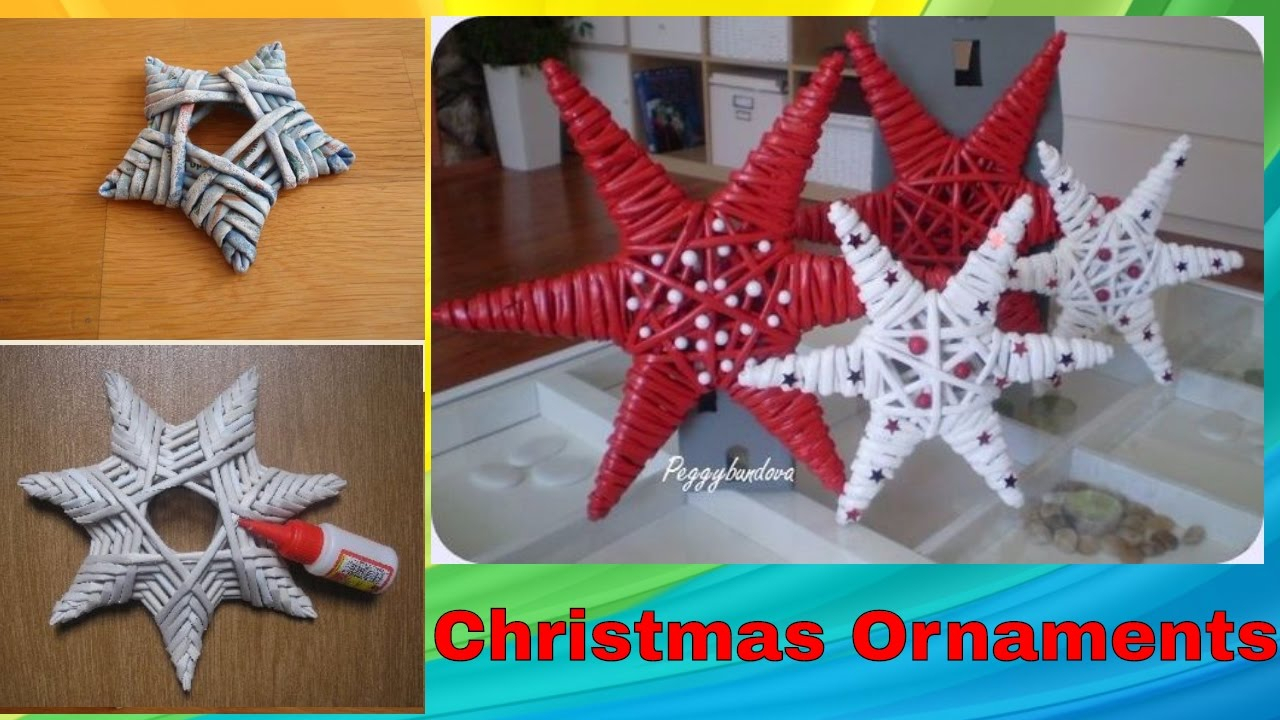 10 Attractive Ideas For Christmas Decorations To Make diy handmade christmas ornaments home decor xmas ideas 2017 2018