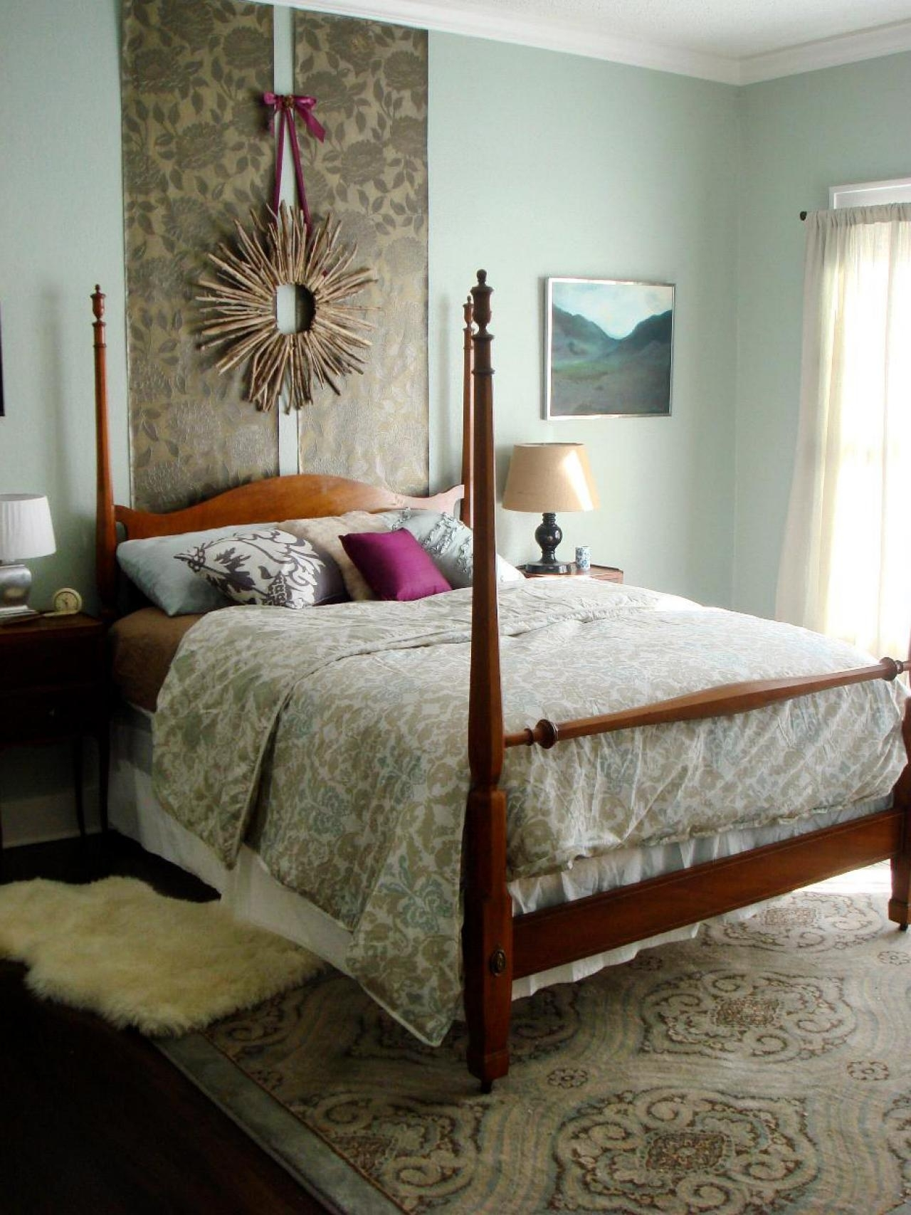 10 Attractive Do It Yourself Headboard Ideas %name 2021