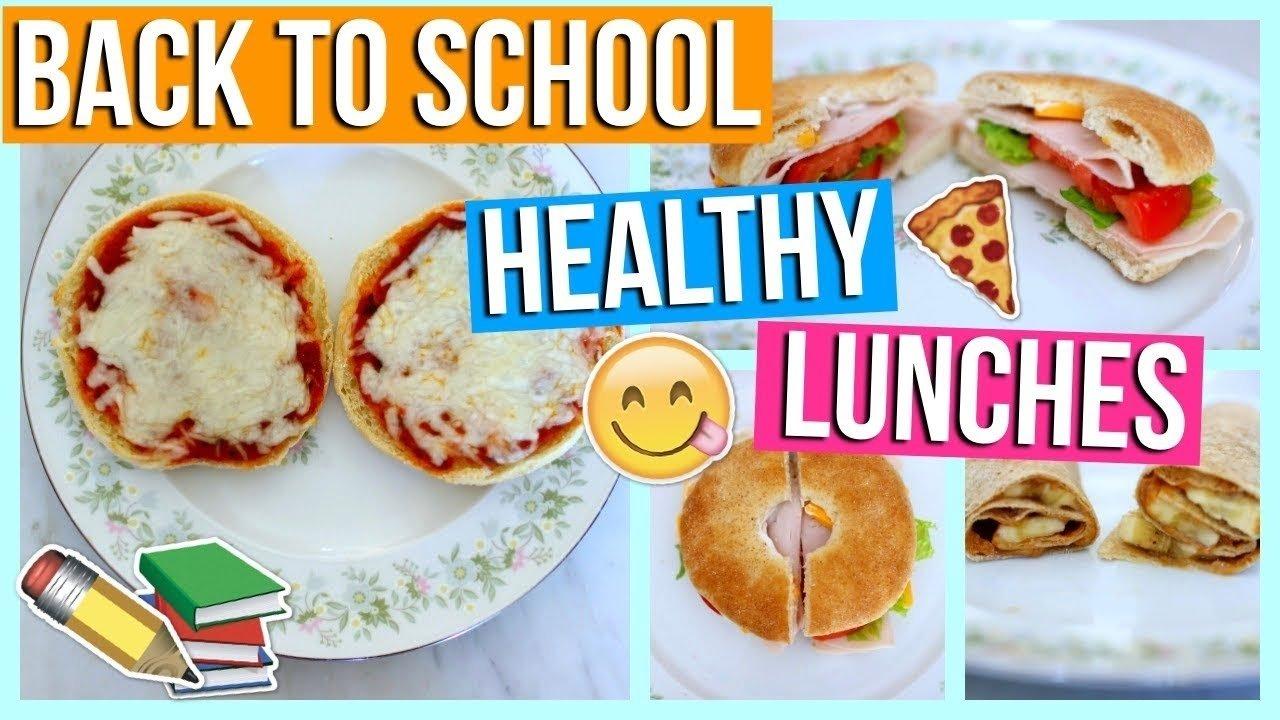 10 Great Quick Easy Healthy Lunch Ideas diy healthy back to school lunches quick easy school lunch ideas 2021