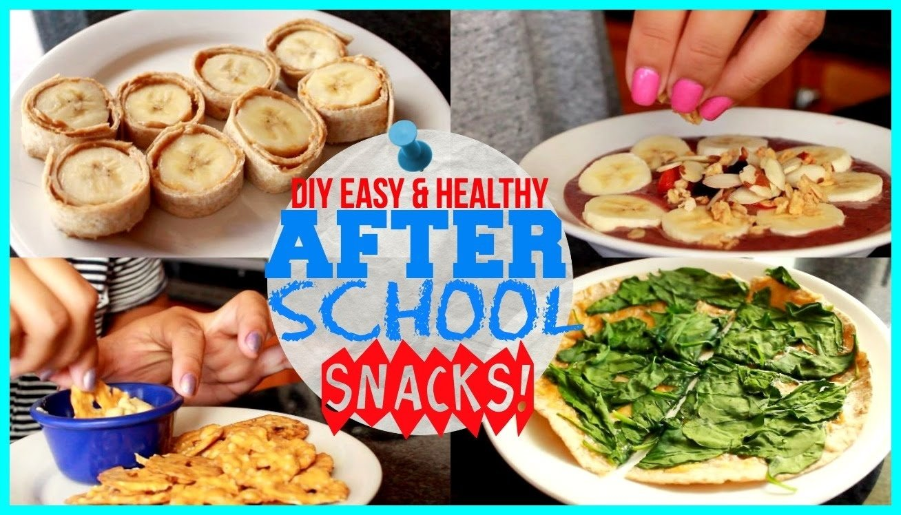 10 Fabulous Healthy Snack Ideas For School diy healthy easy after school snacks youtube 2021