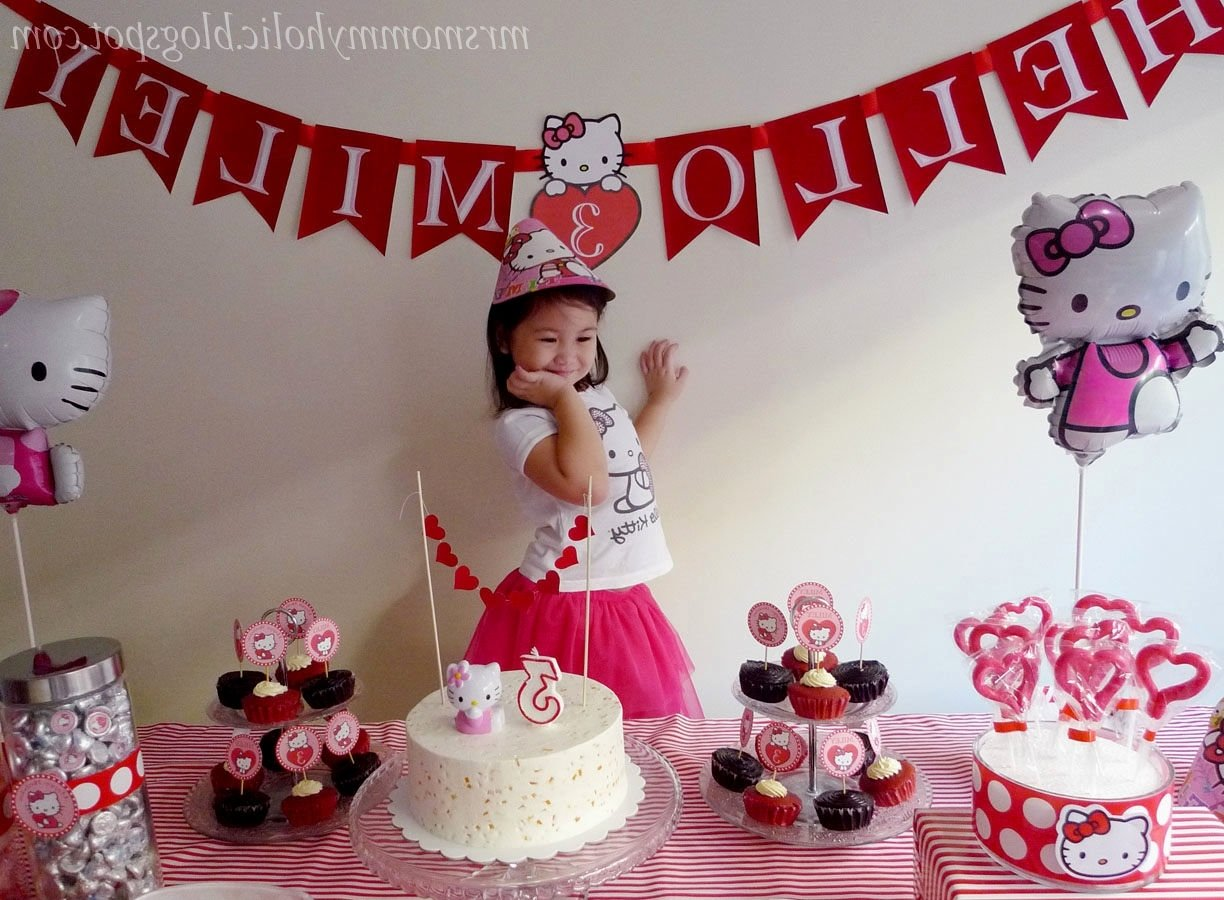 diy hello kitty birthday party ideas diy hello kitty birthday party