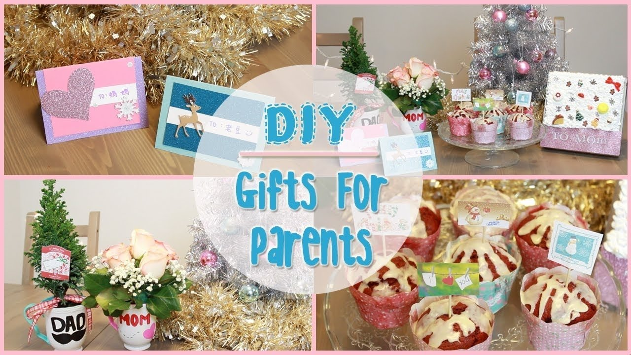 10 Stunning Ideas For Homemade Christmas Gifts diy holiday gift ideas for parents ilikeweylie youtube 1 2020