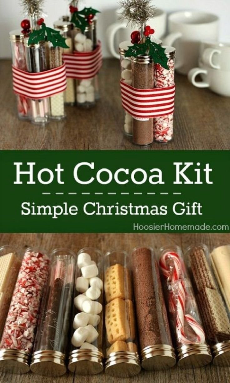 10 Wonderful Homemade Christmas Gift Ideas For Adults diy hot cocoa kits simple holiday gift 19 super fun diy 2020