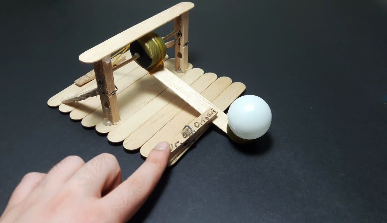 10 Stylish Ping Pong Ball Launcher Ideas diy how to make a catapult that shoot ping pong ball easy tutorial