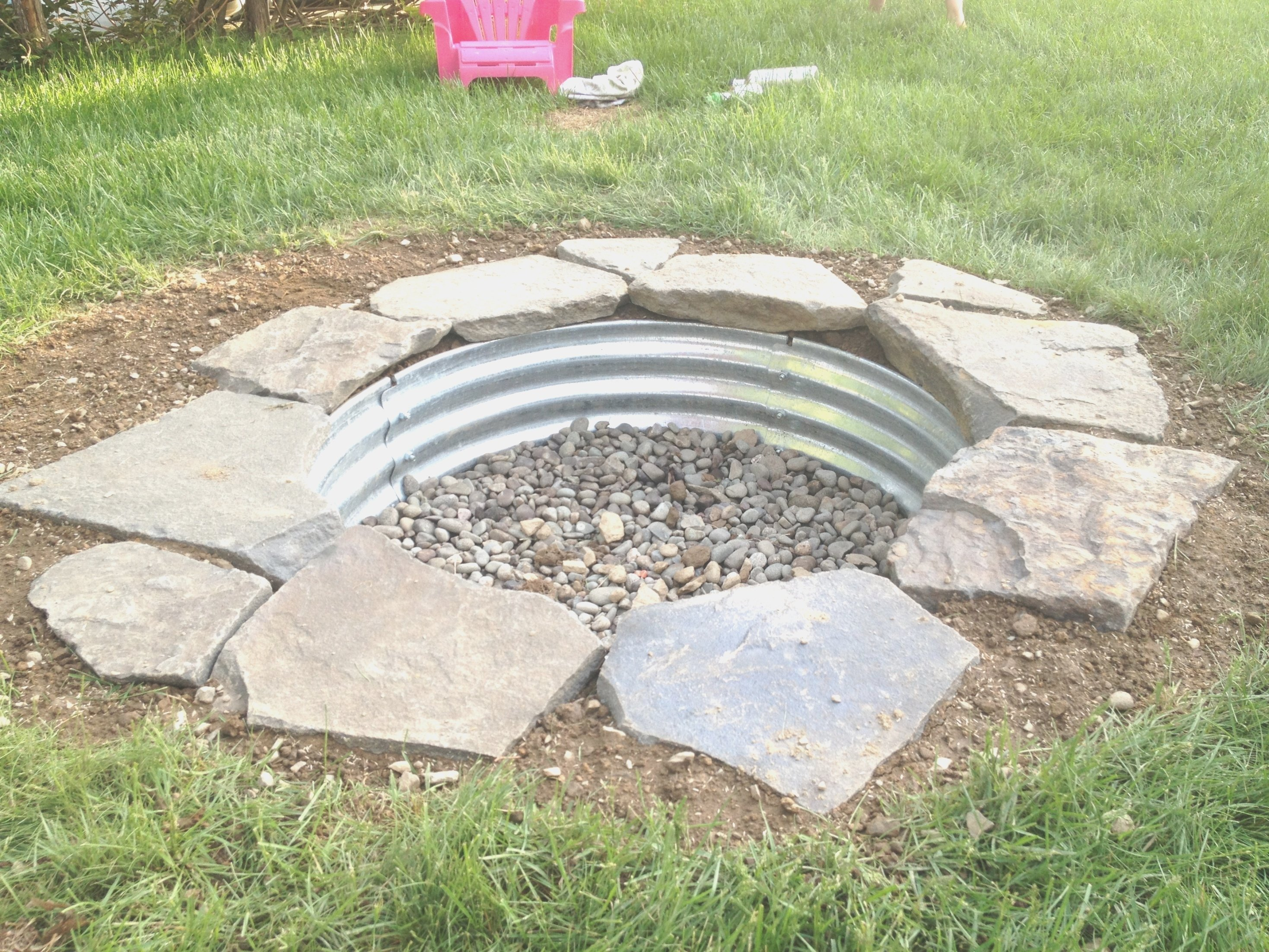 diy in ground fire pit ideas - round designs | in ground fire pit