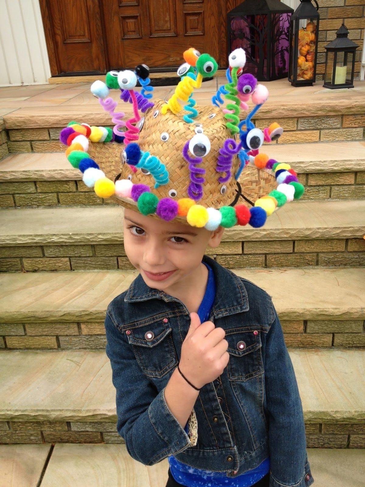 10 Fantastic Crazy Hat Ideas For Kids diy inspo for cams crazy hat day school cameron would want to