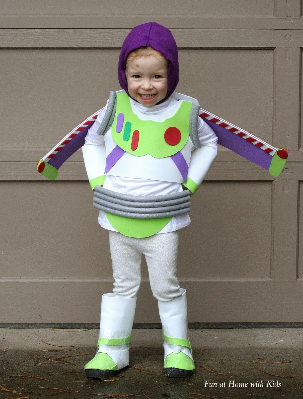 10 Attractive Home Made Halloween Costume Ideas diy kids buzz lightyear no sew halloween costume buzz  sc 1 st  Unique Ideas 2018 & 10 Attractive Home Made Halloween Costume Ideas