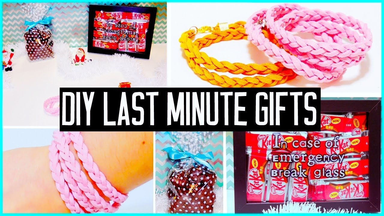 10 Fabulous Last Minute Gift Ideas For Wife diy last minute gift ideas for boyfriend parents bff christmas 2020