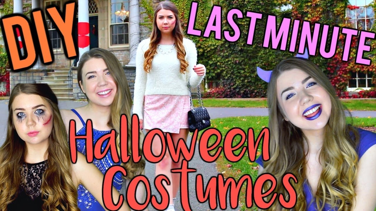 10 Unique Homemade Scary Halloween Costume Ideas diy last minute halloween costume ideas for teens easy cute and 4