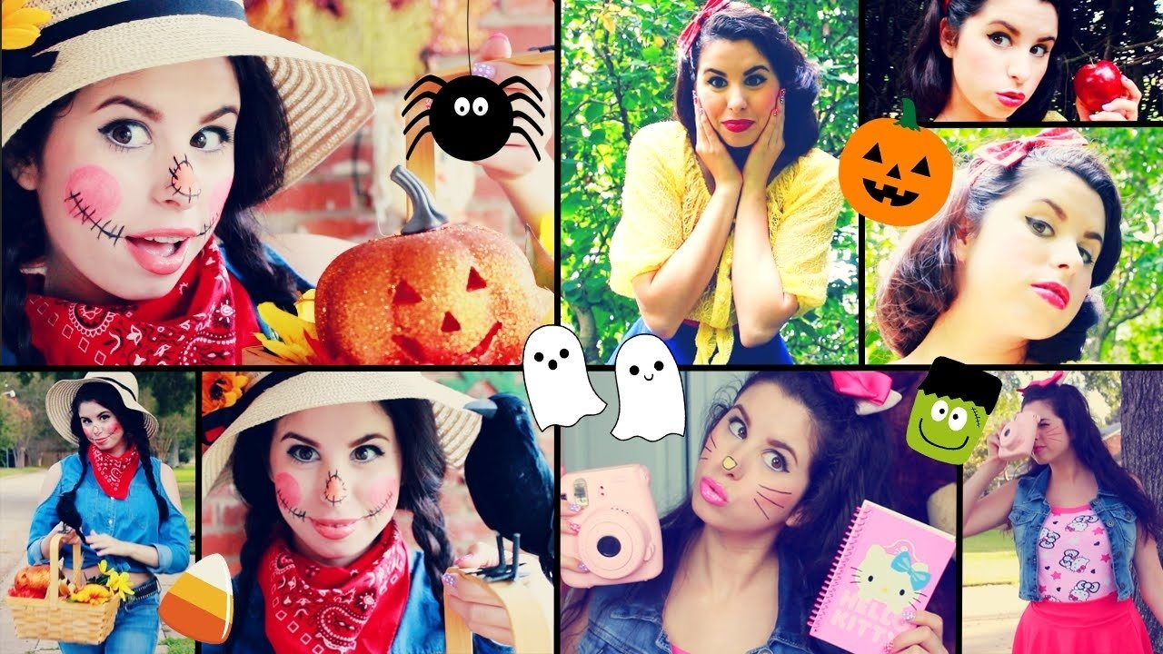 10 Elegant Quick Easy Halloween Costume Ideas diy last minute halloween costume ideas quick easy youtube 2