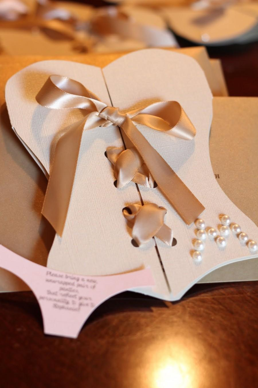 10 Most Recommended Diy Bridal Shower Invitations Ideas diy lingerie bachelorette party invitations e299a5 unique and creative 2020