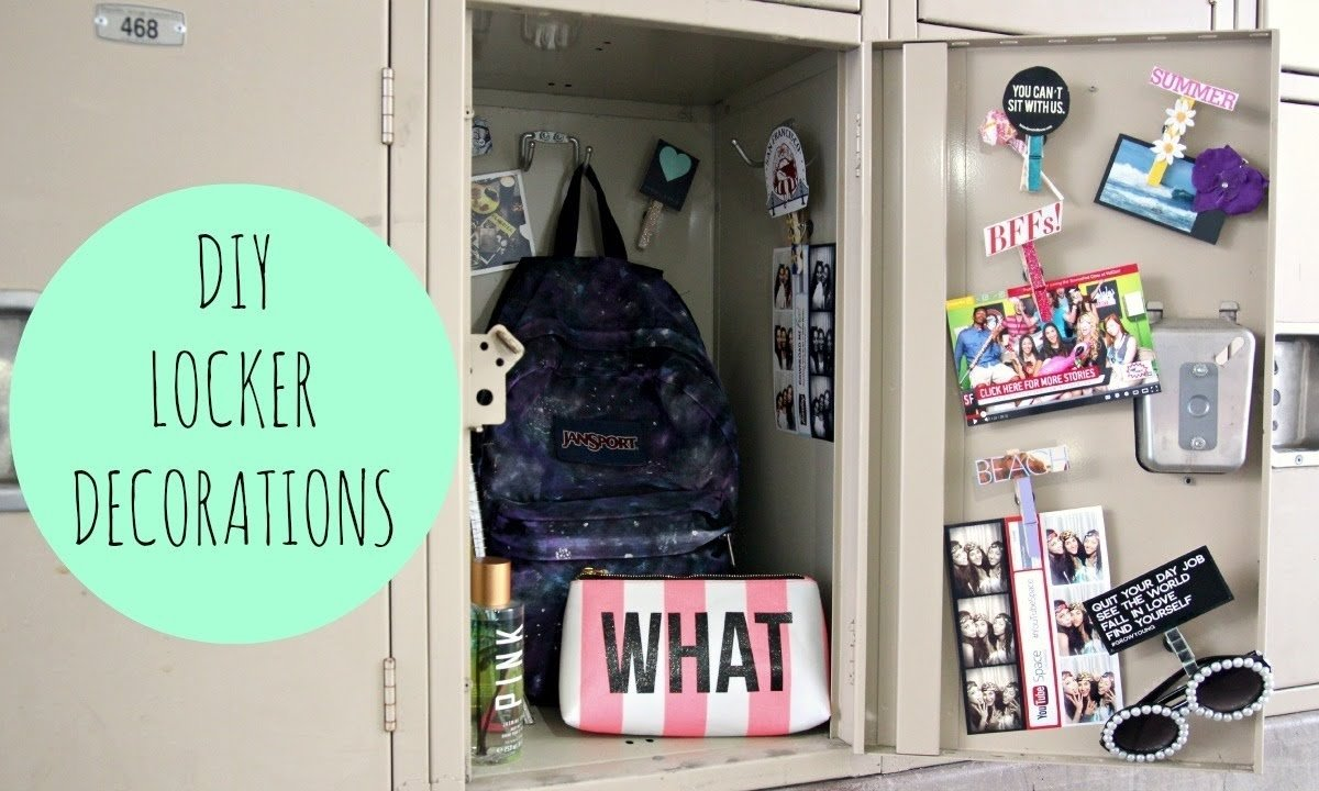 10 Awesome Back To School Locker Ideas diy locker decorations for back to school youtube 2020