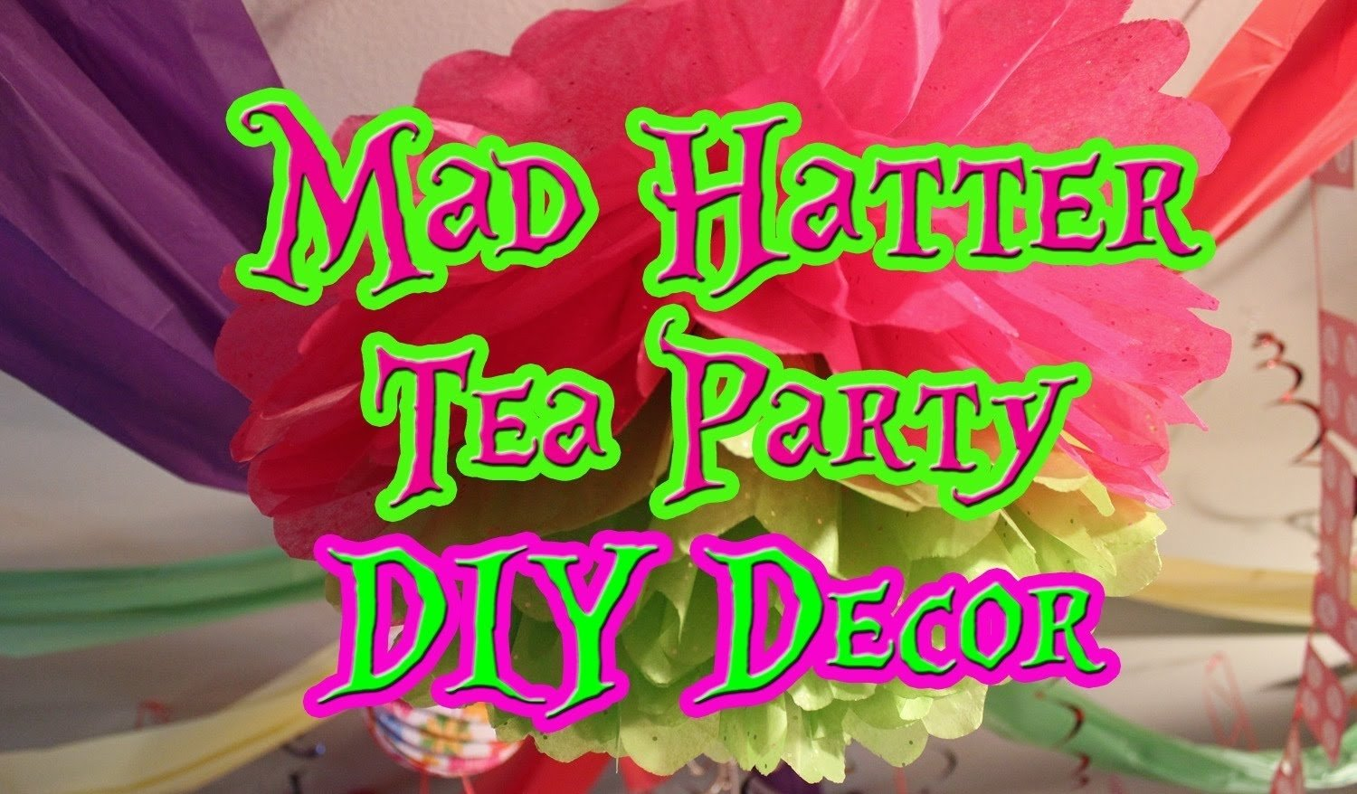 10 Most Popular Mad Hatters Tea Party Ideas