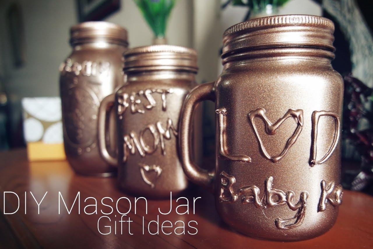 10 Ideal Diy Mason Jar Gift Ideas diy mason jar christmas gift ideas youtube 2020