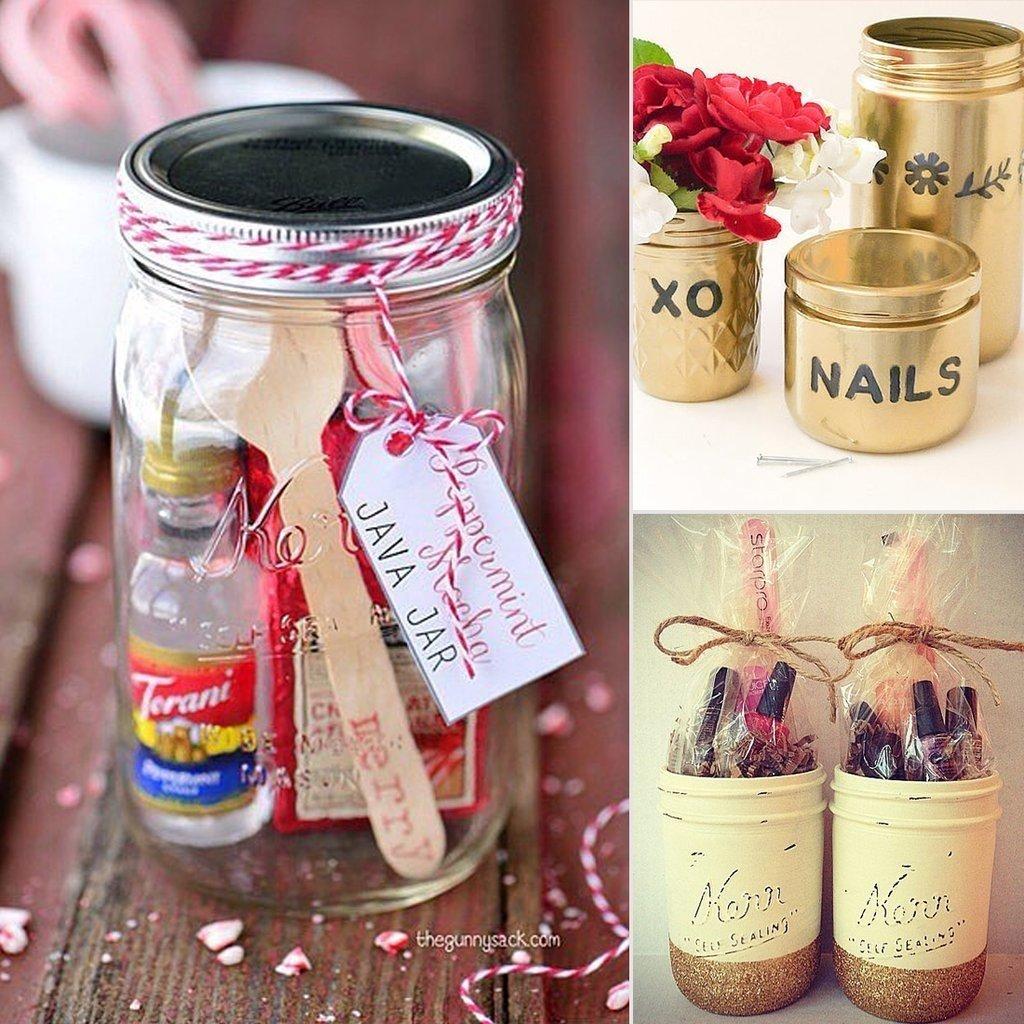 diy mason jar gift ideas | popsugar smart living
