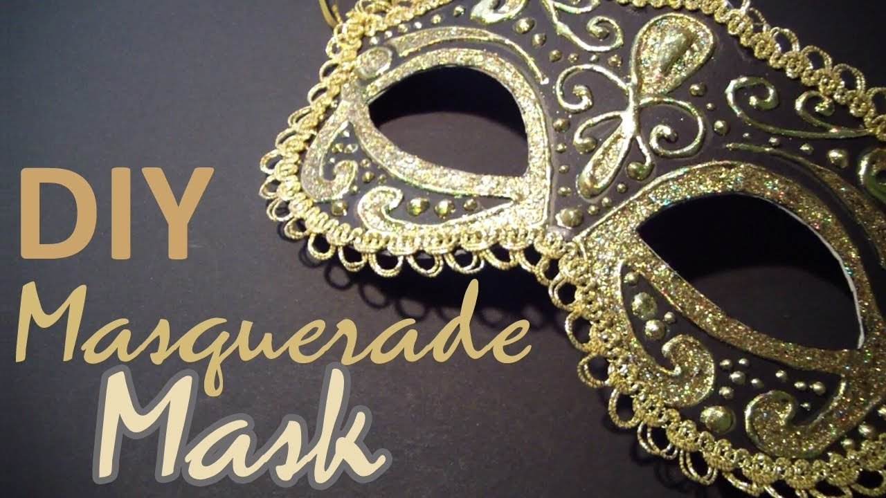 10 Great Romeo And Juliet Mask Ideas diy masquerade mask from scratch youtube 2020