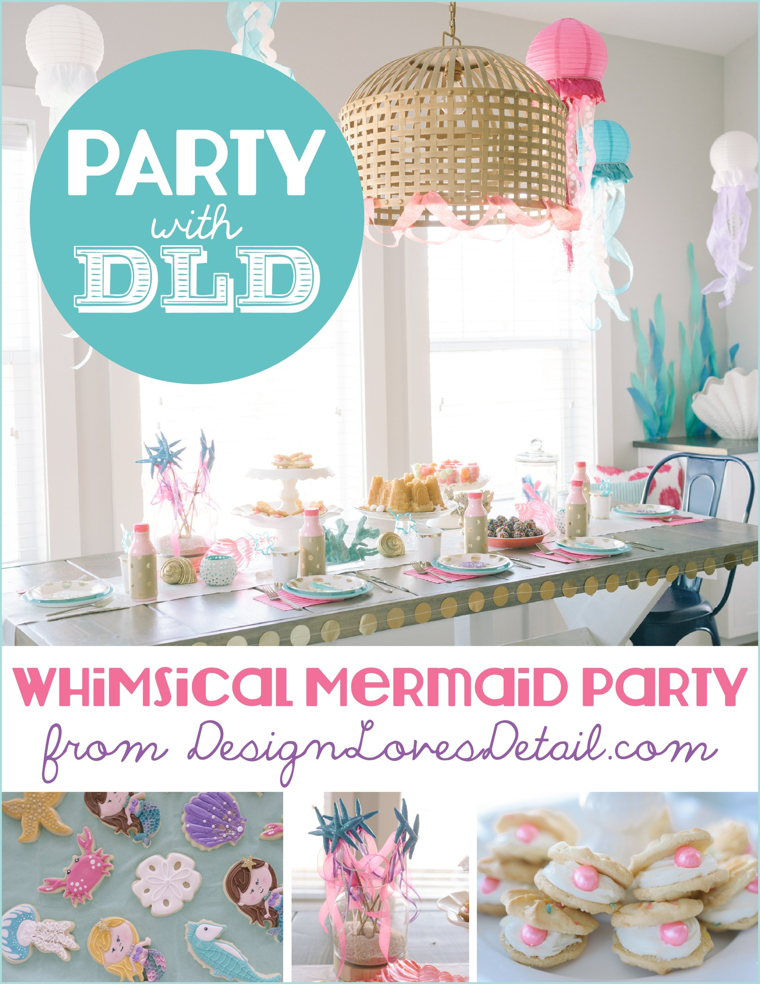 10 Stunning Craft Ideas For Birthday Parties diy mermaid birthday party ideasdesign loves detail 2020