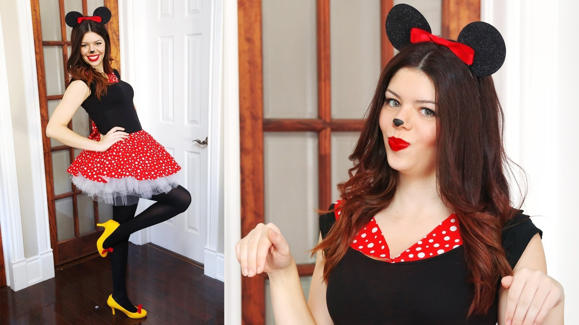 10 Great Minnie Mouse Costume Ideas For Women diy minnie mouse halloween costume no sew youtube 2020
