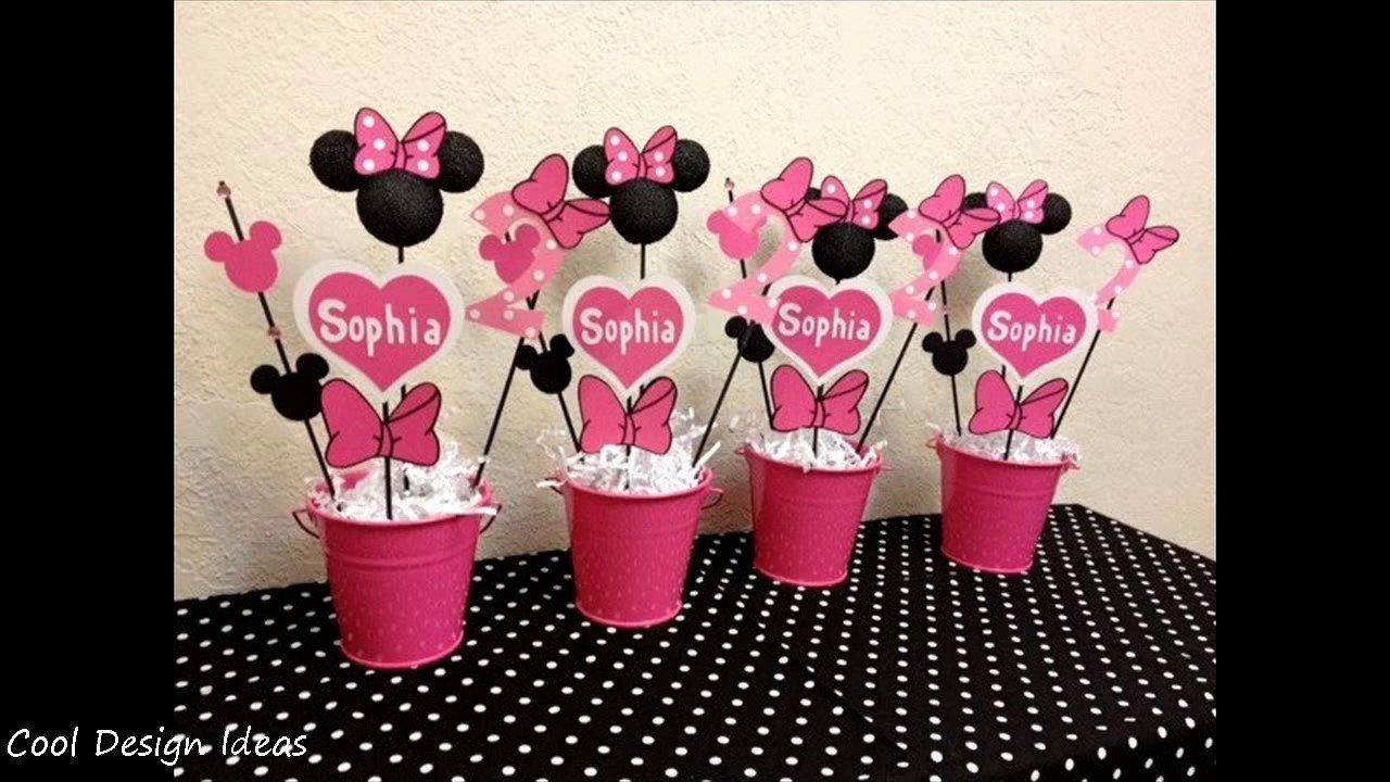 10 Fabulous Minnie Mouse Party Decoration Ideas diy minnie mouse party decorations ideas youtube 11 2020