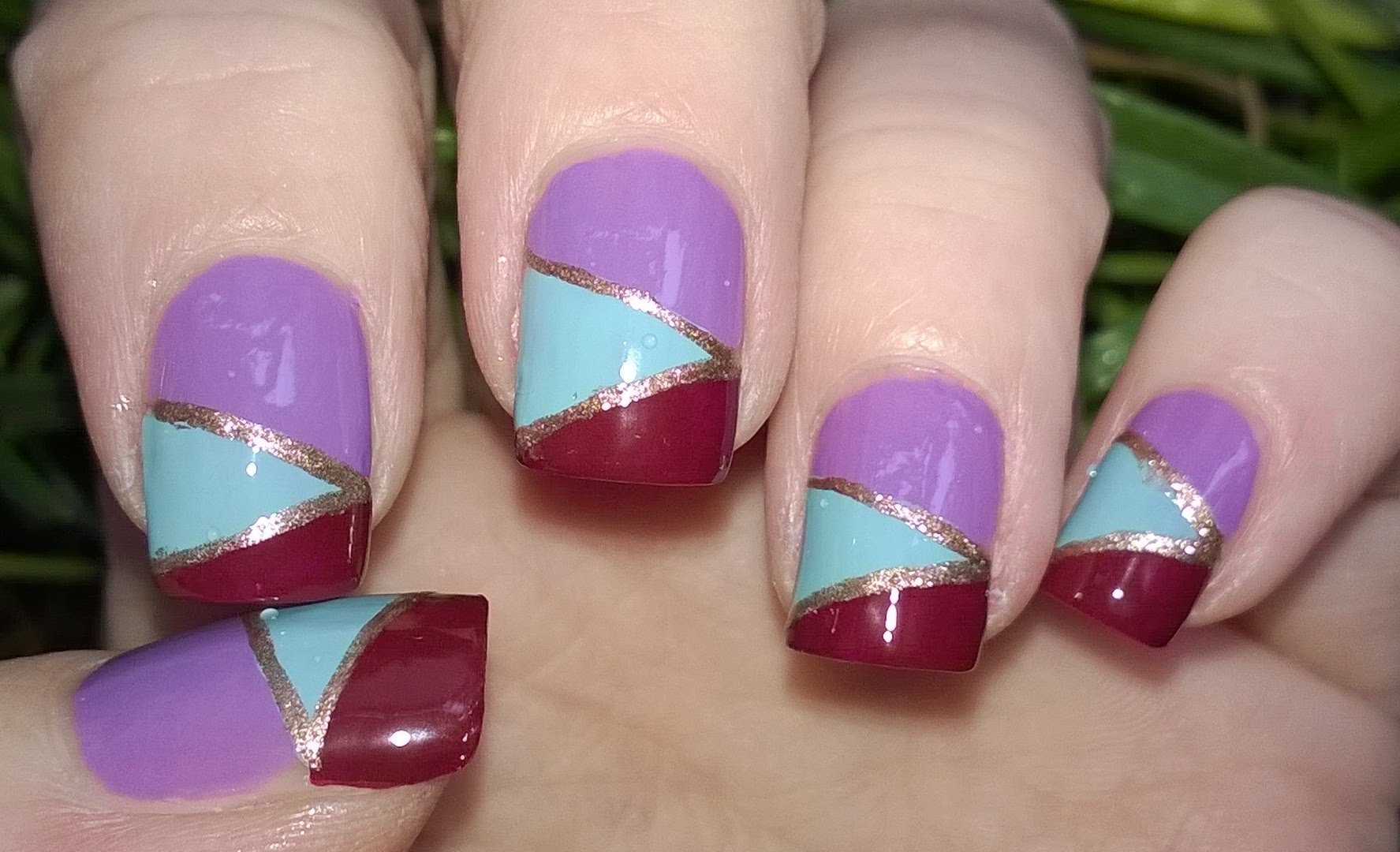 10 Unique Nail Art Ideas Step By Step diy mosaic nails without tools easy nail art designs stepstep 2021