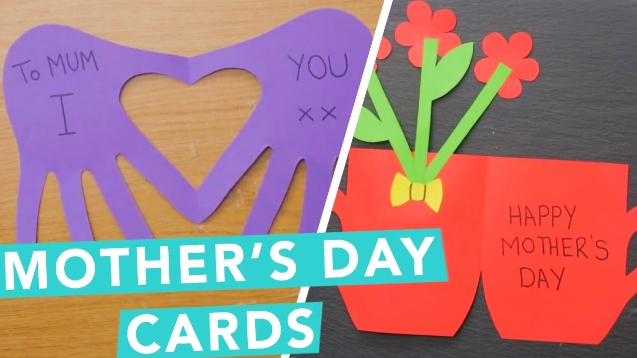 10 Stylish Good Mothers Day Card Ideas diy mothers day card ideas diy cards activities for kids 3