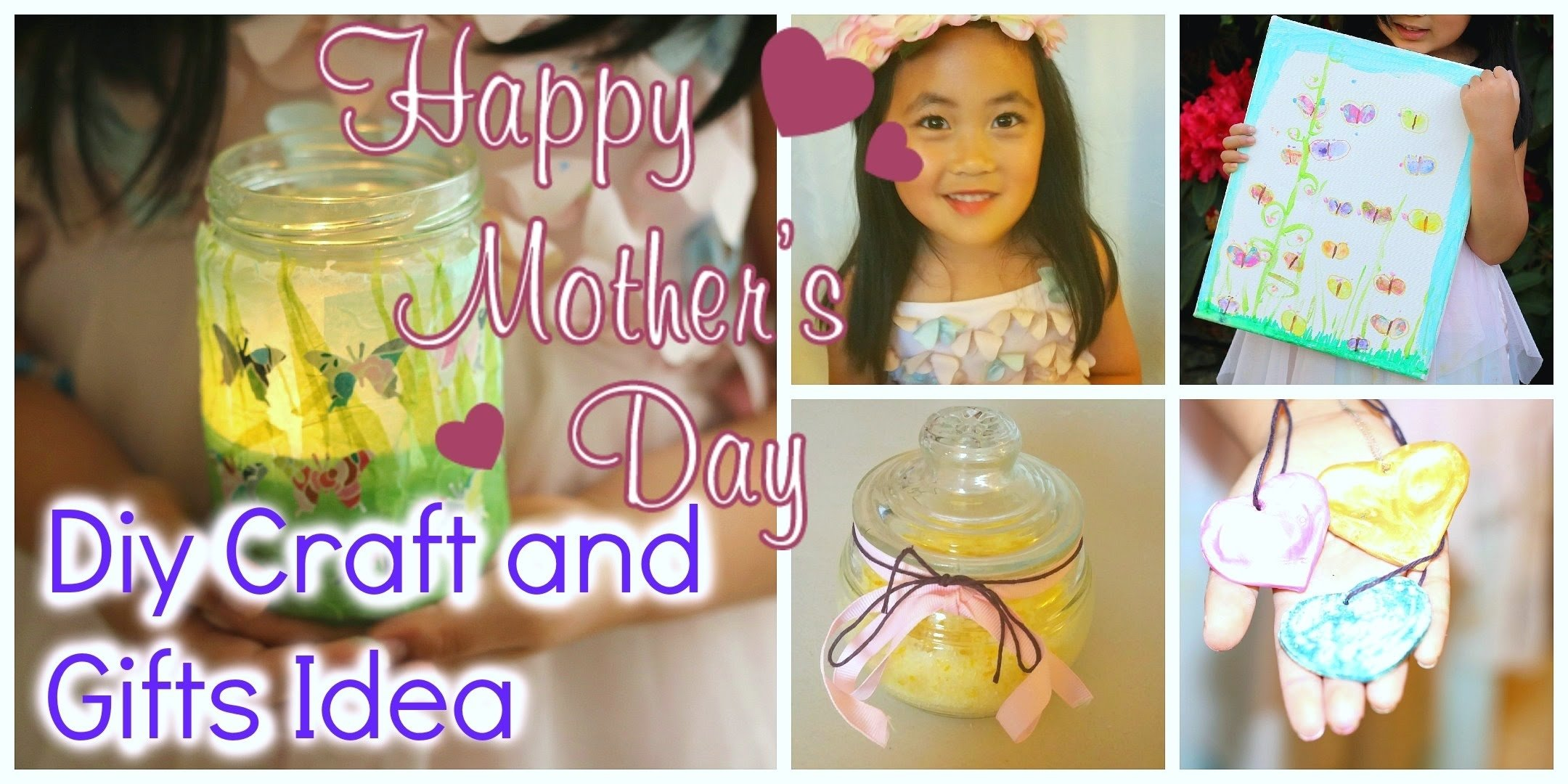 diy mother's day gift ideas kids friendly craft - youtube