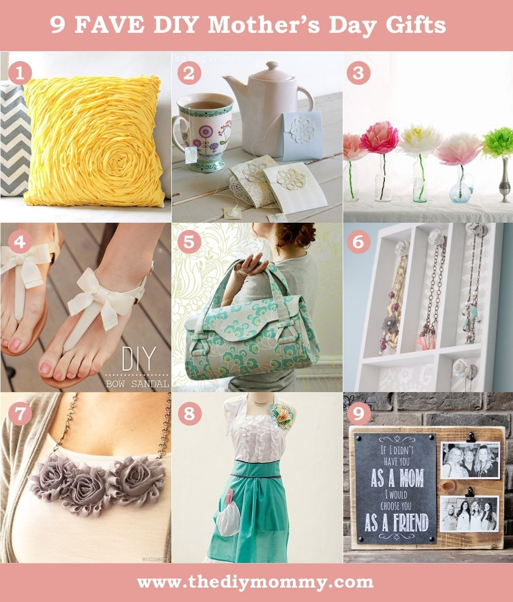 10 Awesome Diy Gift Ideas For Mom diy mothers day gift ideas to sew or craft the diy mommy 4