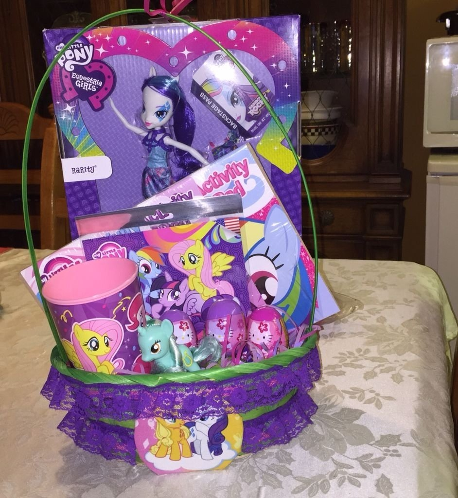 10 Gorgeous My Little Pony Gift Ideas diy my little pony easter basket childhood pinterest easter