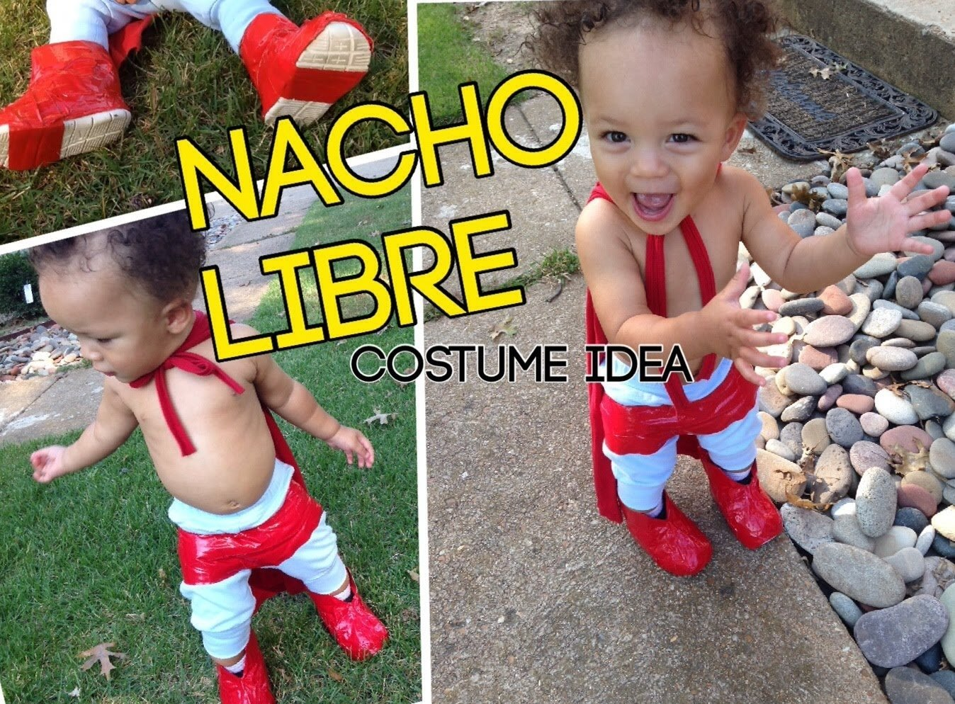 10 Awesome Boys Homemade Halloween Costume Ideas diy nacho libre costume halloween costume idea for children and 1