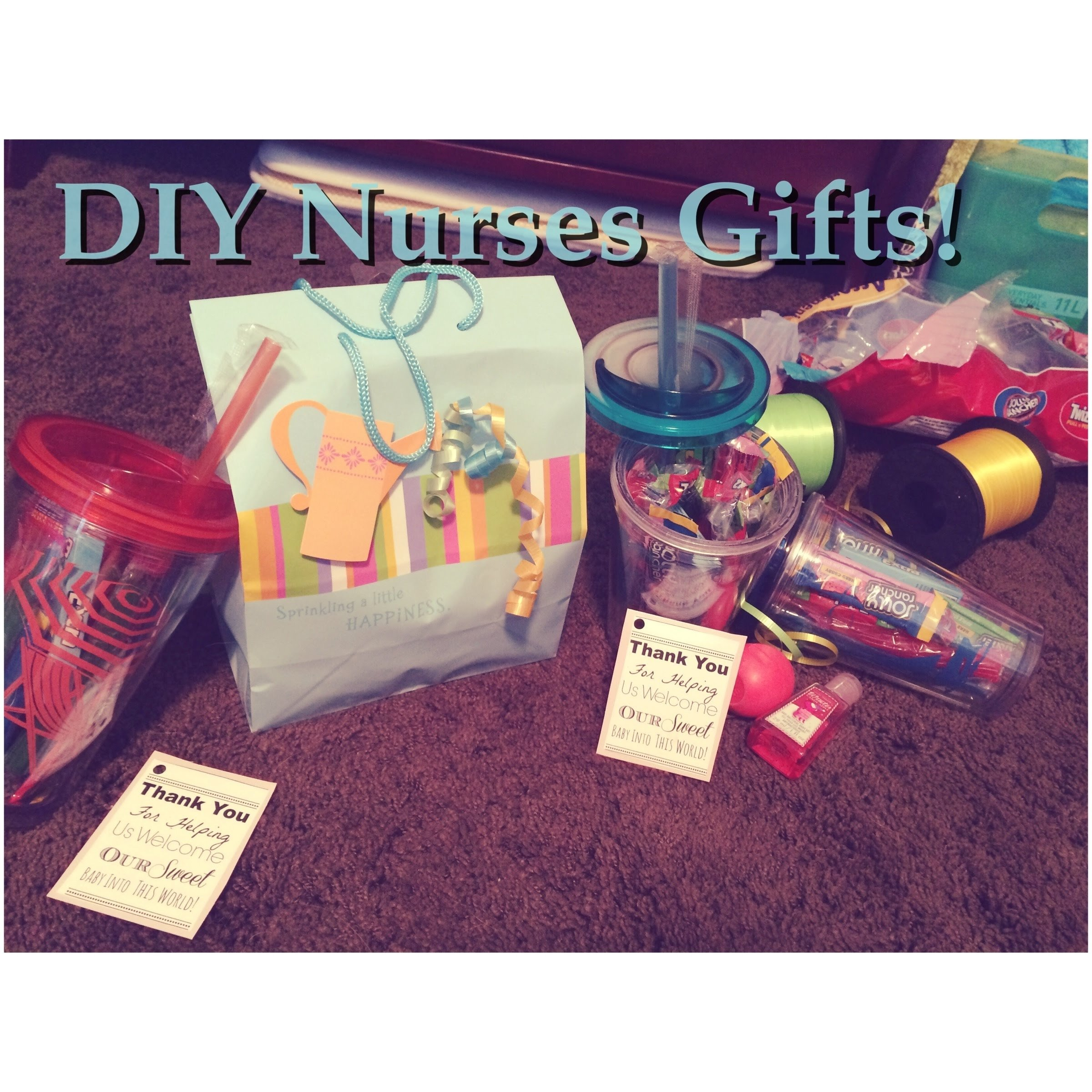 10 Awesome Gift Ideas For Nursing Students diy nurses gifts youtube 2020