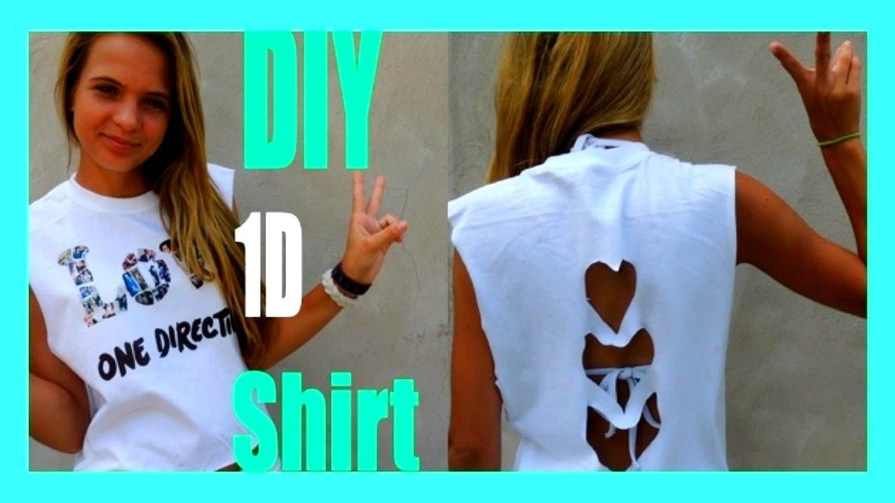 diy one direction concert t-shirt ❤❤❤❤❤ subscribe!!! - youtube