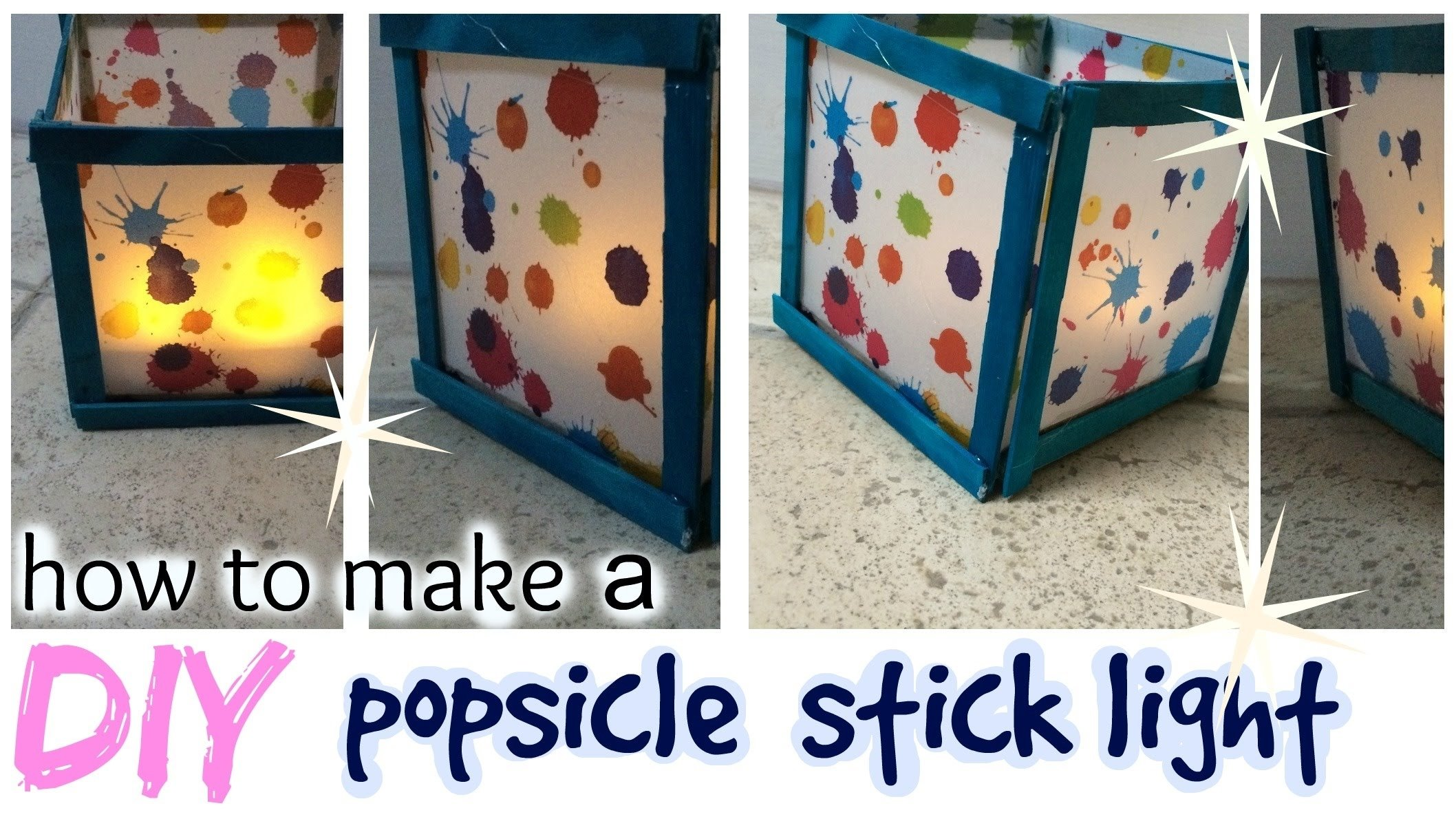 10 Spectacular Craft Ideas With Popsicle Sticks diy popsicle stick light easy craft idea youtube 2021