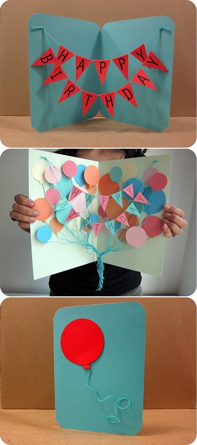 10 Unique Ideas For Handmade Birthday Cards diy projects crafts happy birthday cards happy birthday and 2021