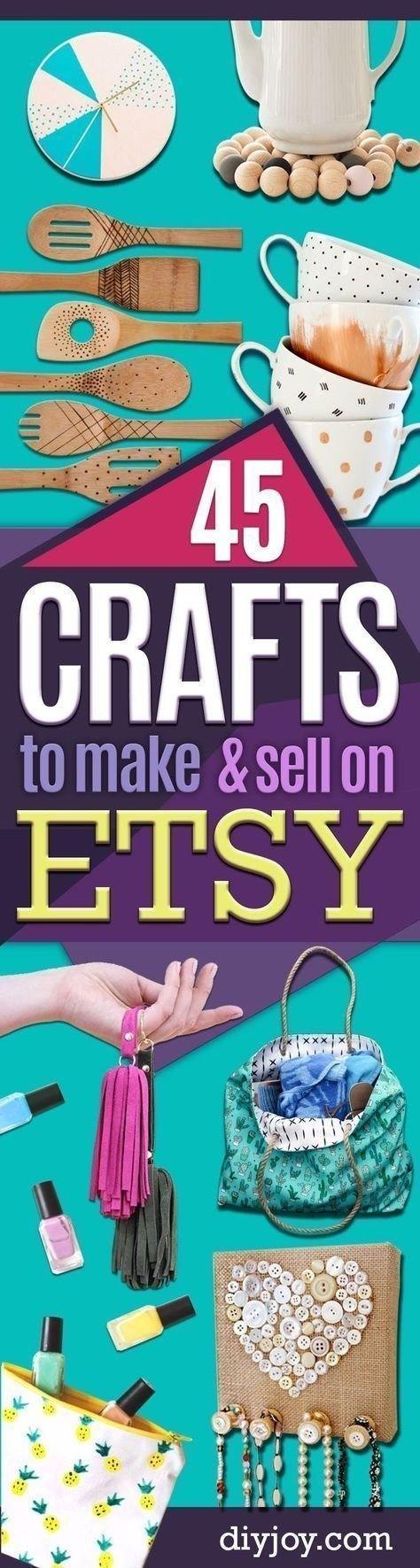 10 Perfect Ideas To Sell On Etsy diy projects to make and sell on etsy learn how to make money on 2020