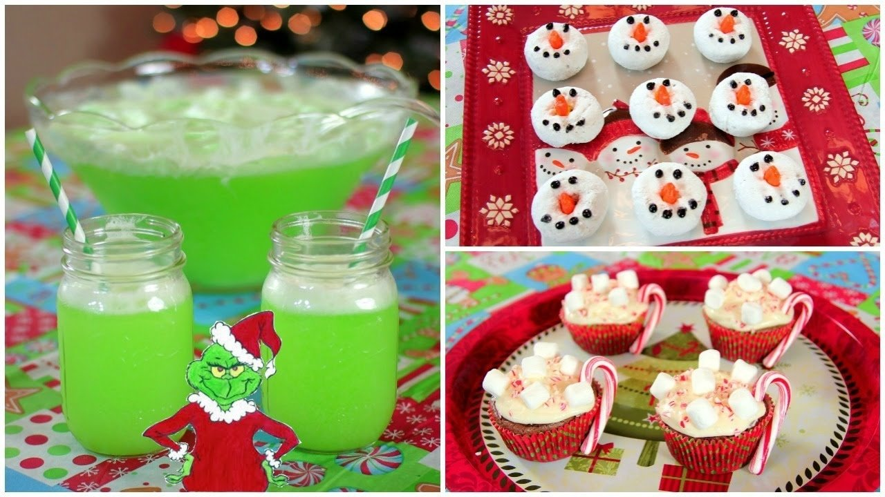 10 Best Christmas Snack Ideas For Kids diy quick easy christmas treats youtube 1 2020