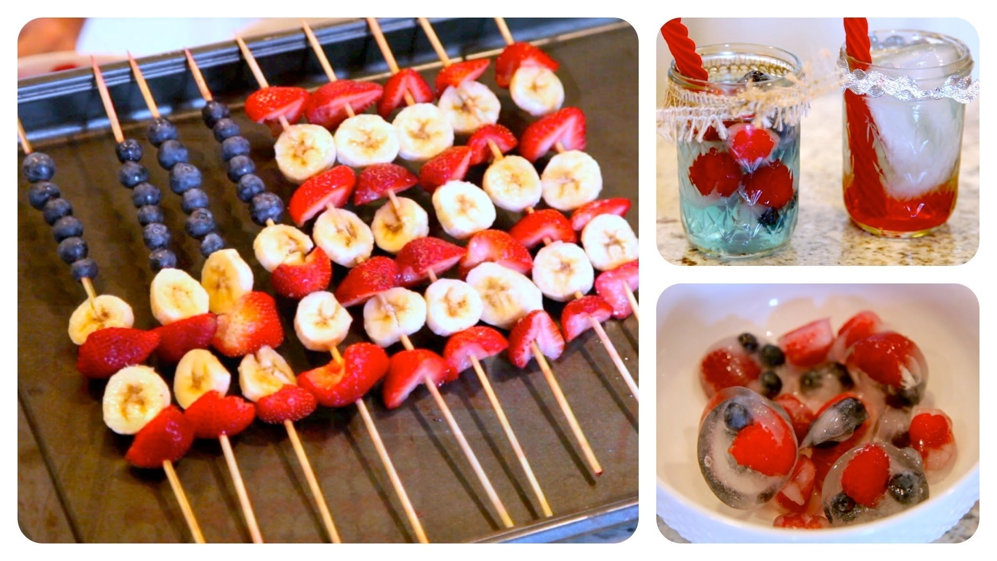 10 Stunning 4Th Of July Snack Ideas diy red white and blue treats 4th of july ideas youtube 1