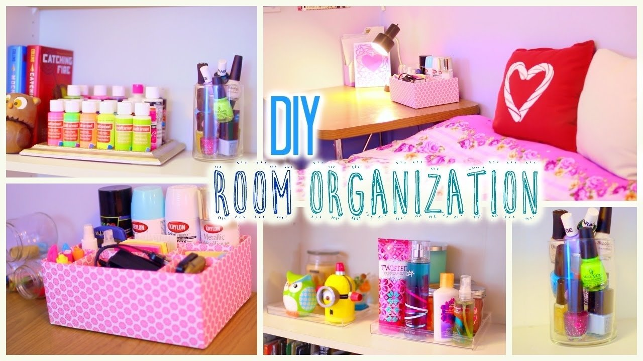 10 Ideal Cool Craft Ideas For Your Room diy room organization and storage ideas how to clean your room