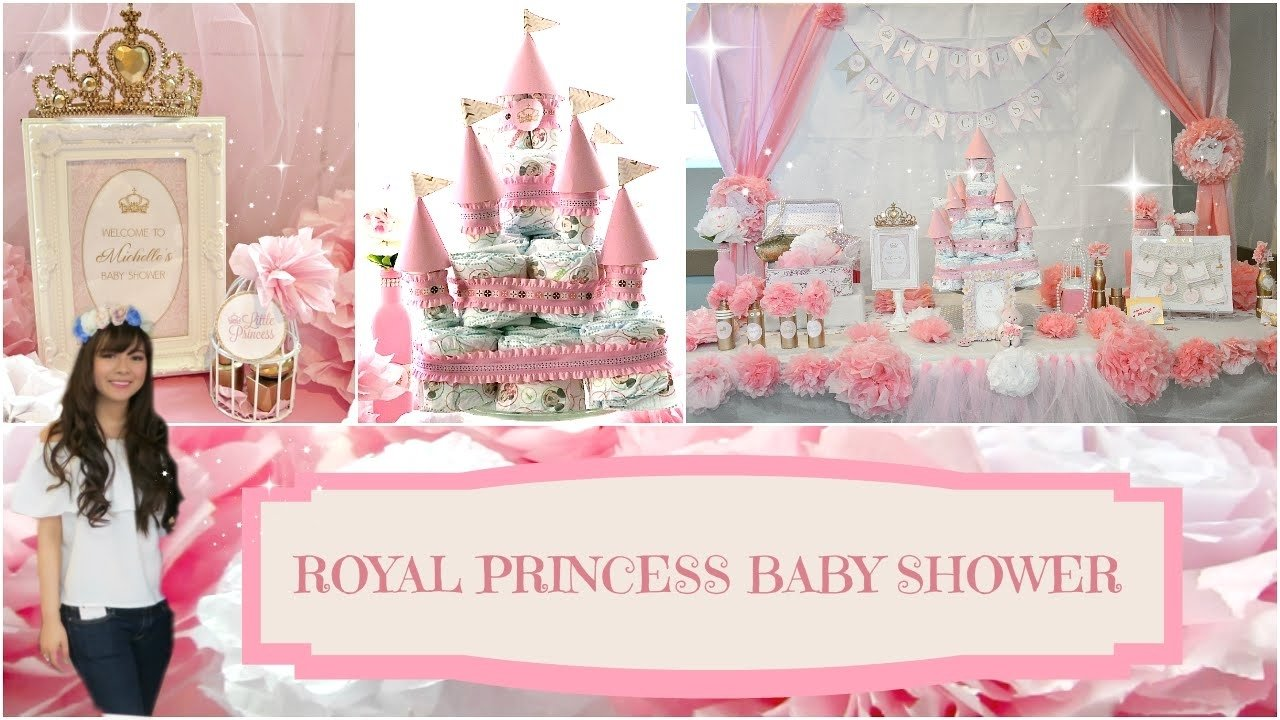 10 Spectacular Princess Theme Baby Shower Ideas diy royal princess baby shower angie lowis youtube