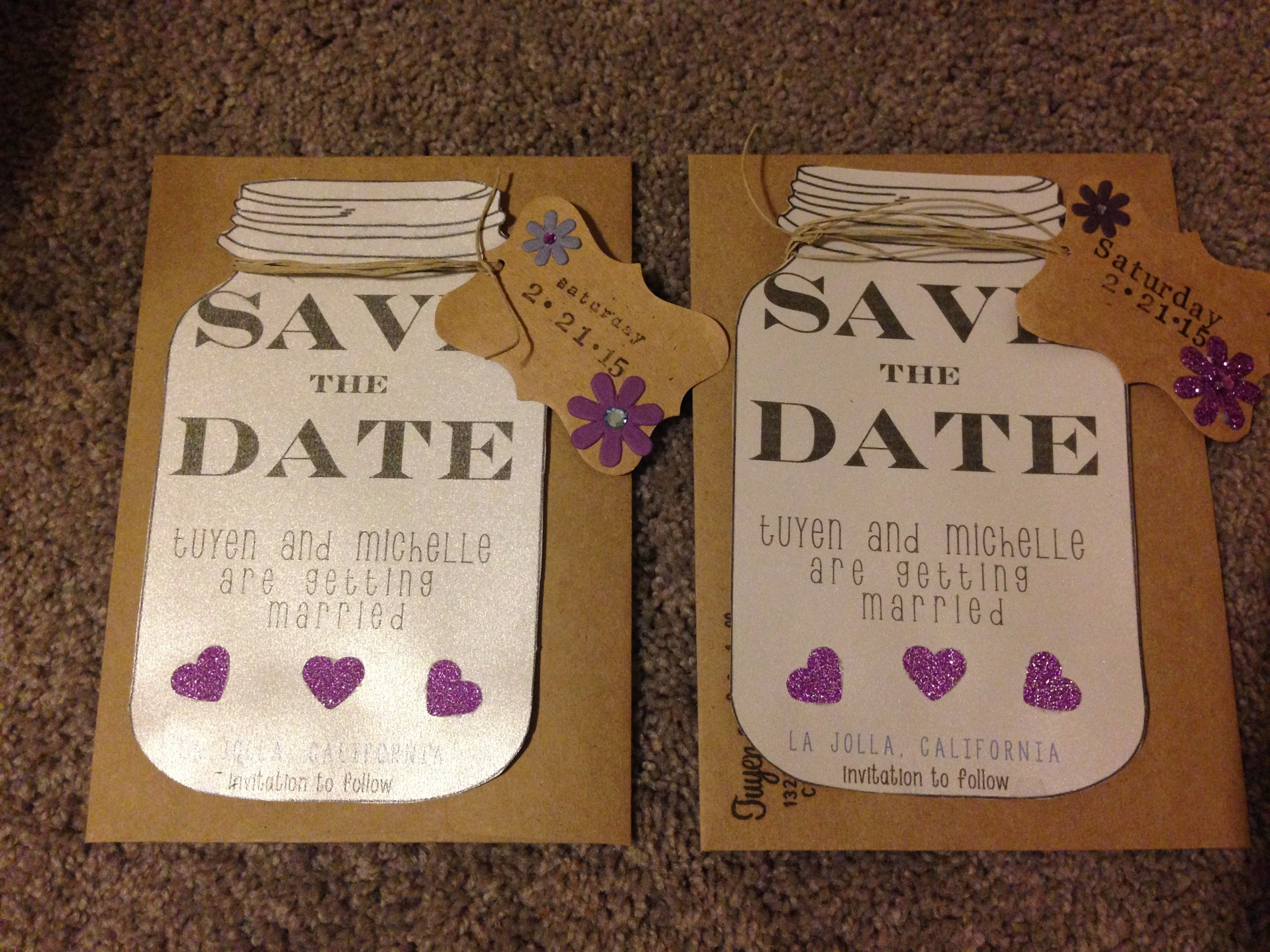 10 Amazing Save The Date Ideas Diy diy save the dates 1 2021