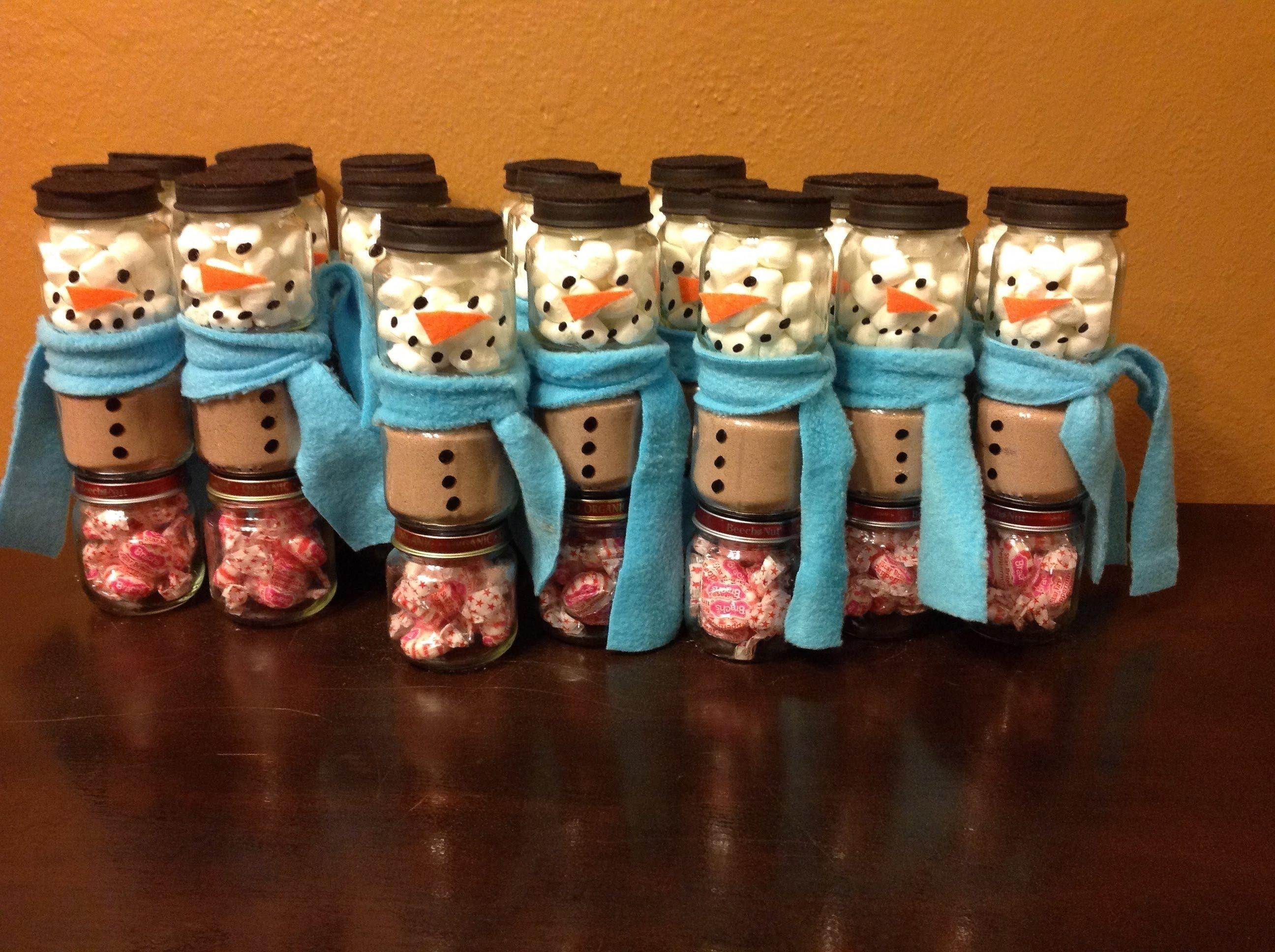 10 Great Craft Ideas For Baby Food Jars diy snowman baby food jars youtube 1 2020